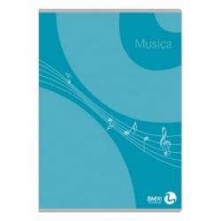 MAXIQUADERNO MUSICA 21X30 16 FF. BM