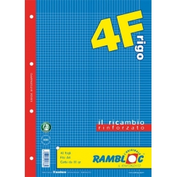 RICAMBI RINF. MAXI 4F 4MM C/MARGINI