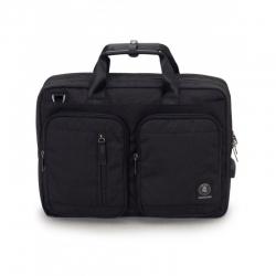 Borsa BUSINESS BAG carry on NERO Invicta UFFICIO business TRACOLLA pack WORK
