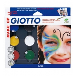 Make Up Ombretti Metal 6 Colori